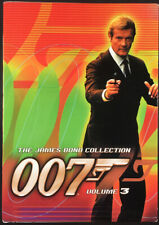 The James Bond Collection, Volume 3 6 DVD Box Set Connery Moore Dalton NM+!