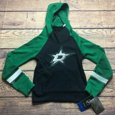 NHL Youth Girls Small 7/8 Dallas Stars Pullover Hoodie Sweatshirt NEW