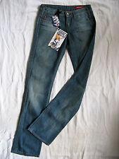 Miss Sixty Mary J Blue Jeans Denim W26/L34 low waist slim fit straight leg
