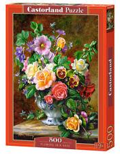 Castorland B-52868 - Flowers In A Vase, Puzzle 500 Teile - Neu