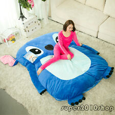 Single Bed Filled Lilo & Stitch Carpet Tatami Mattress Sofa Large Bean Bag Gifts