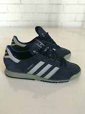 Adidas Napoli 7.5UK Made in WestGermany in 1985 with original box ULTRA RARE VTG