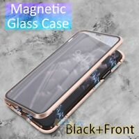 Magnetic Absorption Case For iPhone 11/11 Pro Max/11 Pro 2020 Metal Bumper Cover