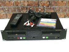 Marantz CDR500 Professional Rack Mount CD Recorder, Rewriter & Player + Remote