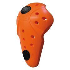 d3o Knie Protektor orange sehr weich hoher Tragekomfort mit Klett