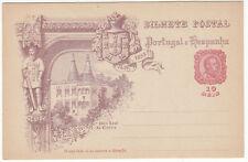 CARTE ENTIER POSTALE NEUF PORTUGAL COLONIE PACO REAL DE CINTRA 1498 / 1898