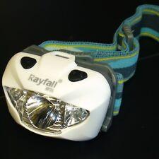 Torcia da Testa Campeggio-super luminosi CREE XP-ER3 LED-escursionismo-ARRAMPICATA-SOS MODE