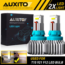 AUXITO T15 LED Reverse Backup Light for Toyota Honda Lexus White 921 912 CSP EOA