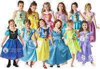 Disney Princess Girls Fancy Dress Kids Costume Childrens Child Outfit 3-8 Years