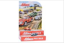 Schuco Piccolo Mini-Display II mit Piccolo Ferrari 250 Le Mans #5 und AC Cobra