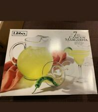 New ListingLibbey 7-Piece Cancun Margarita Pitcher and Glassware Set New in Box