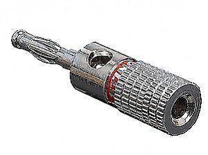 NEW! STINGER PRO SPT5501 CAR SPEAKER TERMINAL BANANA PLUG SET UP TO 8 GAUGE WIRE
