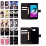 Women Flip Leather Wallet Book Cover Card Holder Case for iPhone 6s Plus Samsung