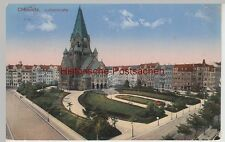 (111060) AK Chemnitz, Lutherkirche 1915
