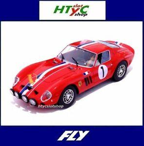 FLY NUMERADA FERRARI 250 GTO #1 RALLYE DOS CATALUÑAS 1965 SLOT CAR TODAY E2022