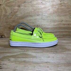 Cole Haan Cloudfeel Weekender Boat Shoes, Women's Size 8.5, Lightning Green