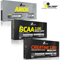 AMOK + BCAA + CREATINE MONOHYDRATE Pre-Workout Booster Muscle Growth Amino Acids