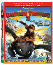 Dragon Trainer 2 (3D) (Blu-Ray 3D + Blu-Ray + DVD) DREAMWORKS ANIMATION