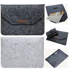 Laptop Wool Felt Sleeve Case Cover Bag For Apple Mac Air MacBook Pro 11/12/13/15