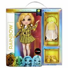 Rainbow High SHERYL MEYER Doll Wave 3 Marigold Yellow - Brand New In Stock 2021