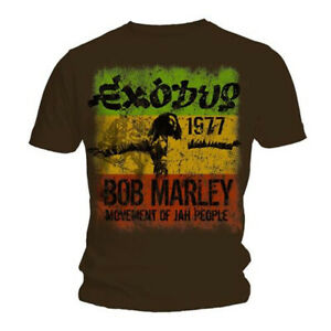Bob Marley 'Exodus Movement Of Jah People' T-Shirt - NEW & OFFICIAL!