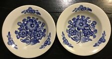 Vint Pottery Bowl Plate 2 Pc Ceramics RF KOLO Fajans Hand Painted In Poland *