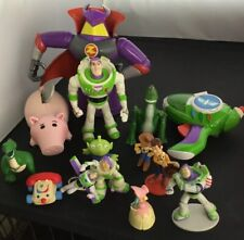 Lot of Toy Story Zurg Alien Woody Buzz Hamm 60 Army Men 1995 PVC Action Figures