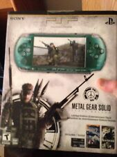 Sony PSP 3000 Metal Gear Solid: Peace Walker Entertainment Pack Spirited Green H