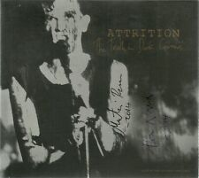 ATTRITION-TRUTH IN DARK CORNERS/LIVE HOLLAND 1985 CD(OTHER VOICES)SIGNED