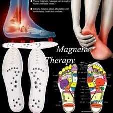 Magnetic Massage Shoe Insoles Acupressure Foot Therapy Reflexology Pain Relief