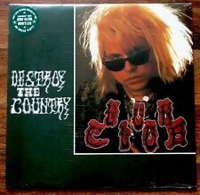 Gun Club - Destroy the Country LP [Vinyl New] 1984 Bootleg Green Vinyl Album