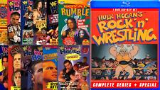 WORLD WRESTLING FEDERATION/WWF/WWE ATTITUDE ERA PPV DVD SETS 1996-2003