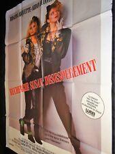 madonna RECHERCHE SUSAN DESESPEREMENT affiche cinema 1985