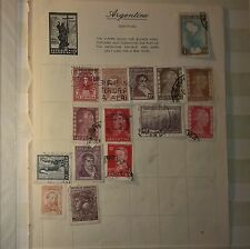 ARGENTINE Mixed Selected Stamps (NoL064)