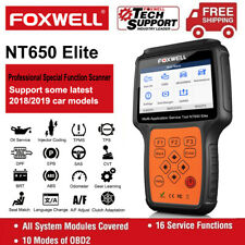 Foxwell OBD2 Full System Scanner Engine ABS SRS TPMS DPF Gear Learn Diagnostic