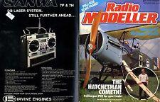 RADIO MODELLER MAGAZINE 1986 NOV J. G. ELSON'S POLIKARPOV PO-2 FREE PLANS