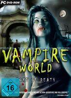 Vampire World - Port of Death für Pc Neu/Ovp
