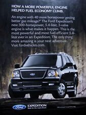 """2005 Ford Expedition Original Print Ad 8.5 x 10.5"""""""