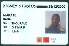 PASSEPORT  DISNEY STUDIO  PARIS  BADGE ETAT BON ETAT  N°109