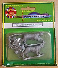 Grenadier Fantasy Warriors - 51022 Amazon Archers on Big Cat (MIB)