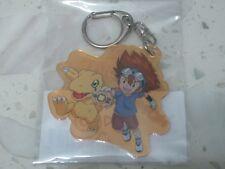 Taichi Tai & Agumon Crest of Courage Keychain Keyring (Digimon Adventure tri.)