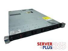 HP ProLiant DL360p G8, 2x 2.2GHz E5-2660v2 10-Core, 128GB RAM, 2x HP 480GB SDD