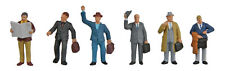 6024 Walthers SceneMaster Business Travelers Passengers Figures People HO Scale