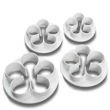 5 Leaf Flower Fondant Cutter Sugar Craft Cake Decorating Baking