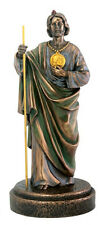 "NEW! 8"" Saint Jude the Apostle St. Halo Flame Statue Figurine Religious Gift"