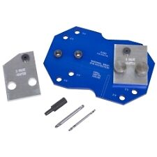 Lisle 68500 Exhaust Tool - Manifold Drill Template Set for Ford