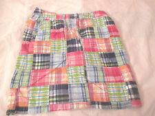 COLORFUL PATCHWORK SKIRT FROM L.L BEAN-LADIES SIZE 10P