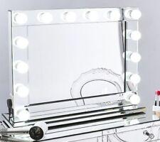 Hollywood vanidad Belleza Maquillaje Profesional + USB Regulable Bombillas Led Espejo 14