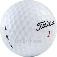 60 Titleist NXT Near Mint Used Golf Balls AAAA