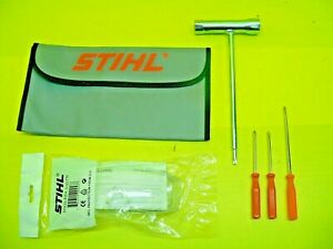STIHL Leaf Blower Tool Kit 4180 007 1002 With Safety Glasses And Other Extras